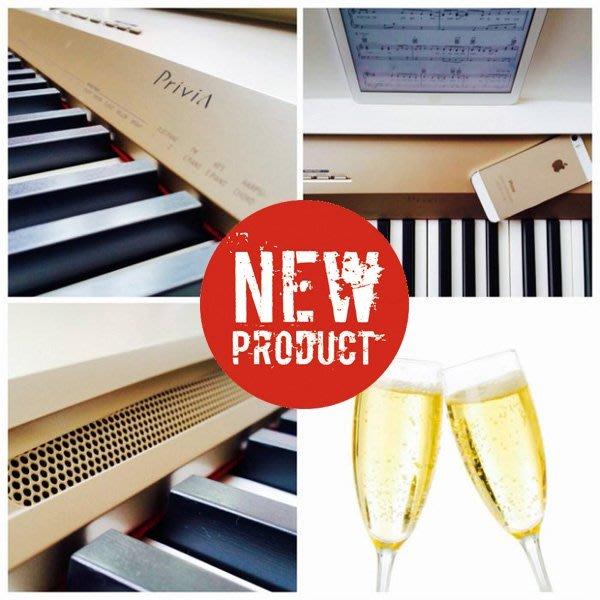 造韻樂器音響- JU-MUSIC - 最新發表CASIO PX-160 PX160 電鋼琴 霧面金 香檳金款