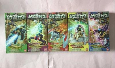 全新 五神獸 法老 07年版 無限合體 BANDAI 盒裝 日版 天威勇士 盒有凹