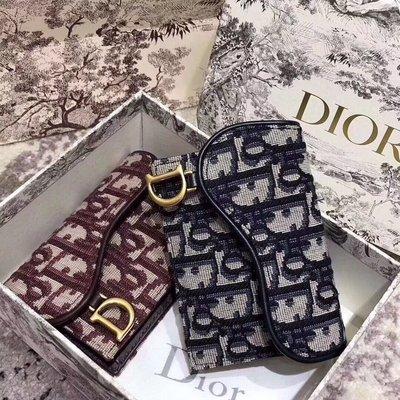 Dior卡包錢包cd字母logo包老花款明星同款 10.5*7*3