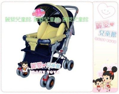 麗嬰兒童玩具館~全鋁加寬雙向手推車.抗菌防暪抗紫外線東森購物款.