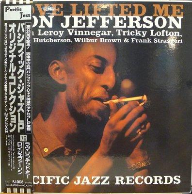 §小宋唱片§日版/Ron Jefferson - Love Lifted Me/二手爵士黑膠/MONO