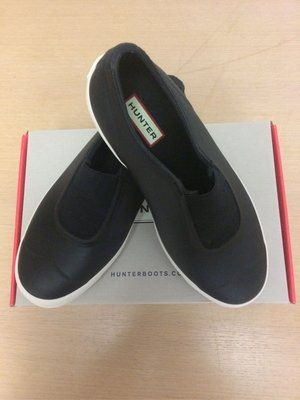 HUNTER 平底雨鞋 UK5