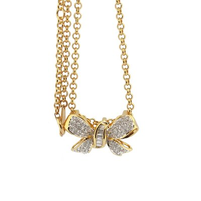 【JHT金宏總珠寶/GIA鑽石專賣】日本製天然鑽石項鍊(JB45-A28)