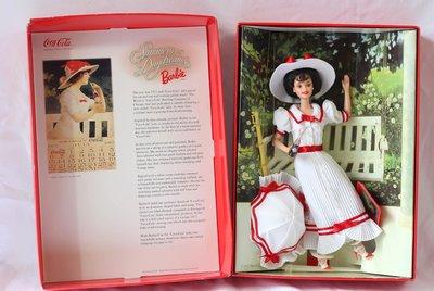 Coca Cola Summer Daydreams 1997 可口可樂 夏日暢想 芭比娃娃