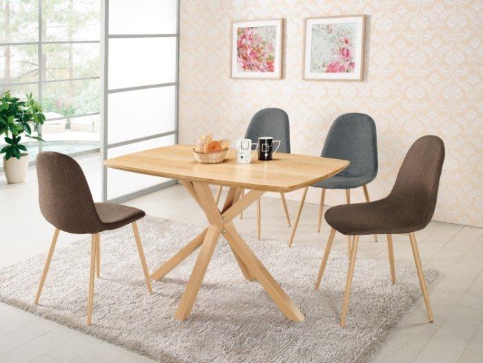 【DH】商品編號G982-3妮芬四尺餐桌(圖一)不含椅。居家/休閒/工商洽談桌/營業。多功能使用。主要地區免運費