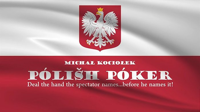 [魔術魂道具Shop]必中牌型~~Polish Poker by Michal Kociolek