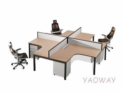 【耀偉】GAMMA系統工作站 (辦公桌/辦公屏風-規劃施工-拆組搬遷工程-組合隔間-水電網路)13