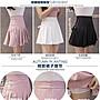 新款 百變百搭綁帶造型高腰安全褲裙 網球裙 學生裙 百褶裙