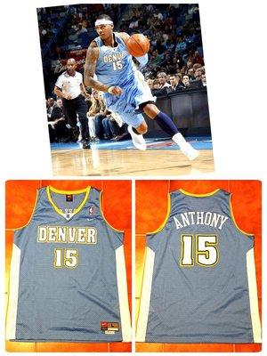 Carmelo Anthony Nike NBA 金塊隊球衣 HWC SW AU 甜瓜