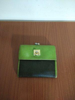 早期摩登時代 美好時光 vintage 法國 Celine 真皮 古著零錢包 短夾
