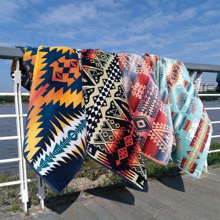 PENDLETON(浴巾毛巾)戶外露營用品/野餐毯/多用途毯/空調毯/保暖蓋毯/地毯/沙發毯/車內裝飾