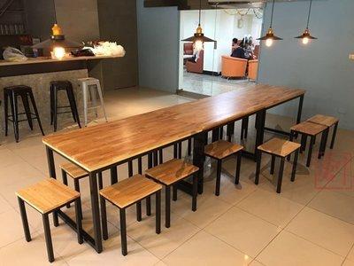 【鐵木創】實木桌  橡膠木 餐桌  餐桌椅組   飯桌 辦公桌 電腦桌 書桌 休閒桌 辦公桌 會議桌 p2 台中市