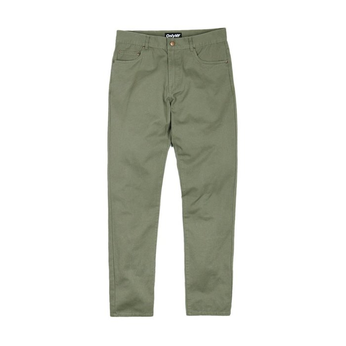 《 Nightmare 》ONLY NY Hudson Twill Pants - Moss