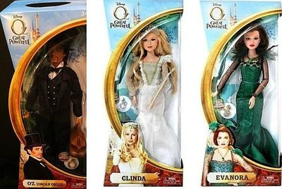 Disney迪士尼Oz奧茲大帝系列 Barbie芭比娃娃 Ken肯尼 綠野仙蹤前傳