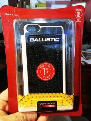 黑白色!※台北快貨※美國Ballistic TOUGH JACKET MAXX保護套*iPhone 6(S) Plus用