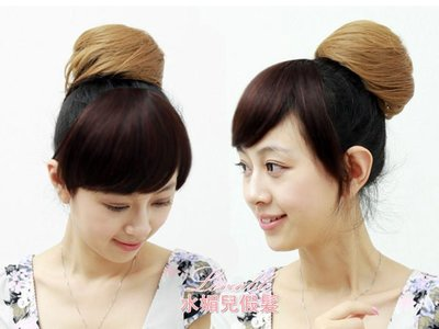 水媚兒假髮DLH51 髮量超多 髮包 日系丸子頭 高溫絲 現貨或預購 團購批發
