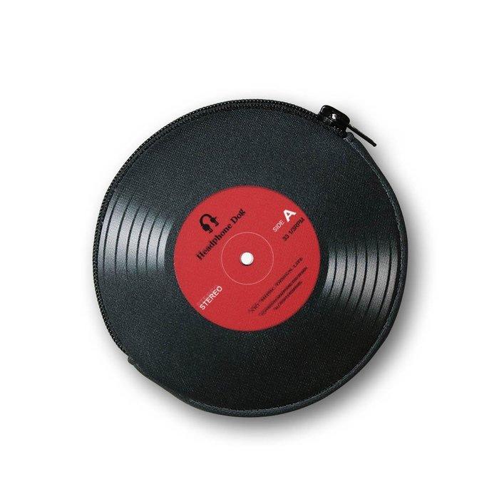 HeadphoneDog唱片造型零錢包 / 耳機包
