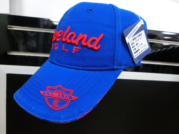 藍鯨高爾夫 Cleveland 高爾夫棉質帽 #C554B1BLR