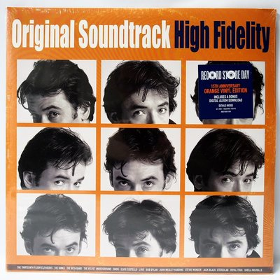 電影配樂 High Fidelity 【高傳真】2015  美國版 2LP 限量版本