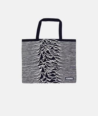 PLEASURES X JOY DIVISION WILDERNESS HEAVYWEIGHT TOTE BAG
