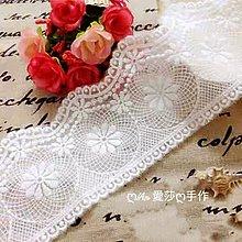 『ღIAsa 愛莎ღ手作雜貨』韓國蕾絲花邊DIY手工服裝輔料出口原單複古寬7.5cm