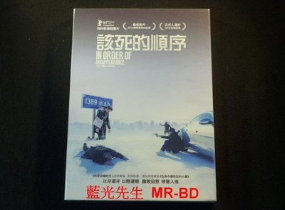 [DVD] - 該死的順序 In Order Of Disappearance ( 迪昇正版 )