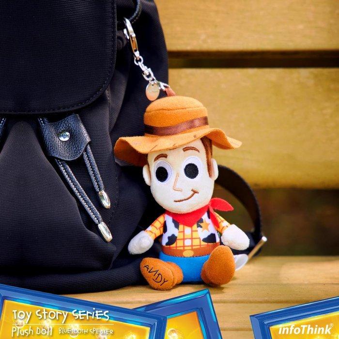 InfoThink 玩具總動員系列絨毛藍牙喇叭(胡迪)-生日禮物 畢業禮物 情人節禮物 聖誕禮物 婚禮小物
