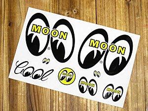 (I LOVE樂多)原版MOONEYES綜合款式8張貼紙 小創意讓車大不同 另有RF貼紙供你選擇喔mooneyes