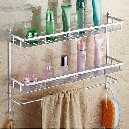 【優上精品】衛浴置物架 洗手間 廁所置物架 壁掛衛生間置物架浴室置物架 衛生(Z-P3214)