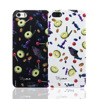 【宇浩電通】Lilycoco iPhone 5 5S SE 設計家系列款 甜甜圈 保護殼 保護套 現貨