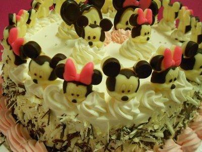 烘焙小屋  米奇 米妮 造型蛋糕  ~