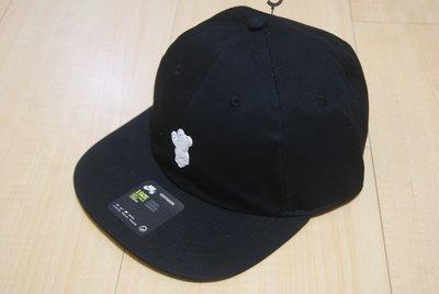NIKE SB X MEDICOM H86 HAT聯名庫柏力克熊黑色款可調式老帽棒球帽905706-010 JORDAN