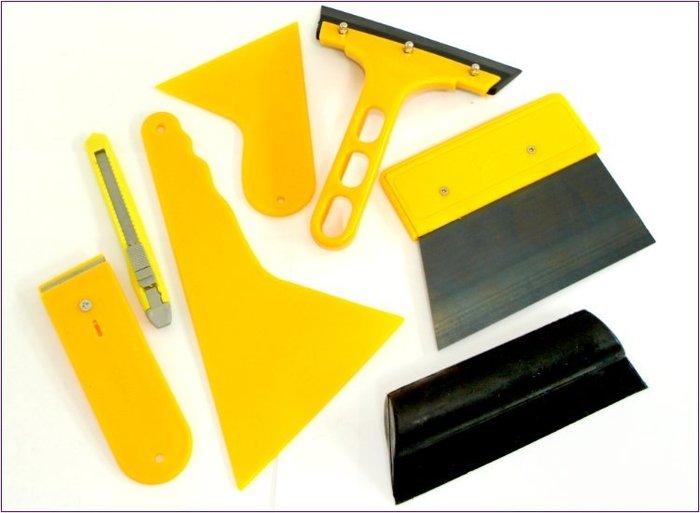 304A012 HF~56 7件套貼膜工具 1組 貼膜工具 貼膜刮刀 刮板   缺貨勿下