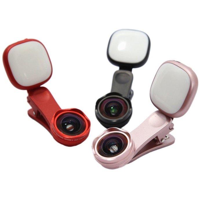 ONAIR AI059 抗變形 7段 補光燈 廣角鏡頭 微距 二合一 鏡頭 4K高清 廣角鏡 情人節禮物