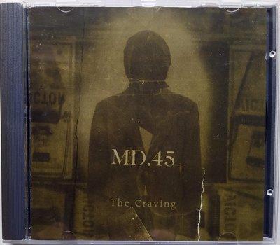 Megadeth子團 MD.45 - The Craving 二手英版