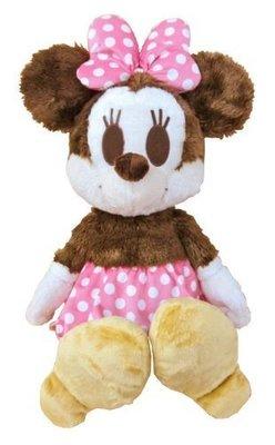 《東京家族》日本進口迪士尼 米妮   Mickey Mouse兒童玩具毛絨公仔玩偶抱枕娃娃生日禮盒禮物