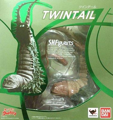 日本正版 萬代 S.H.Figuarts SHF 超人力霸王 歸來的超人 雙尾獸 可動 模型 公仔 日本代購