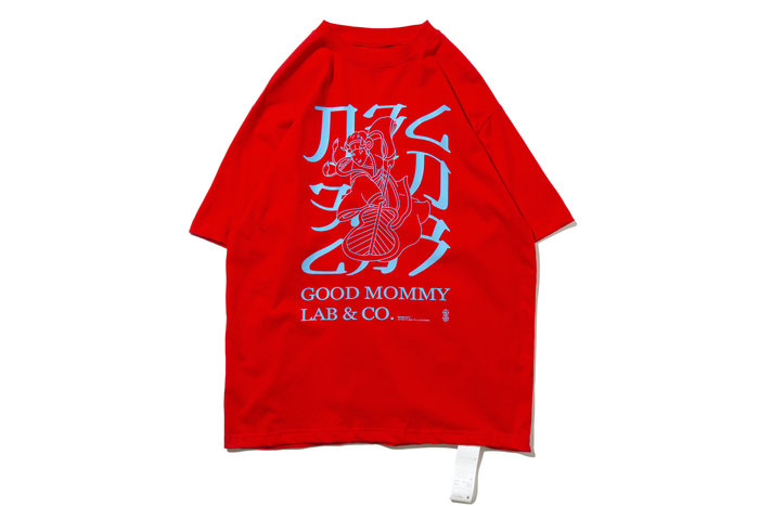 "[ LAB Taipei ] DeMarcoLab x GoodMommy ""PRINCESS TEE"" (Red)"
