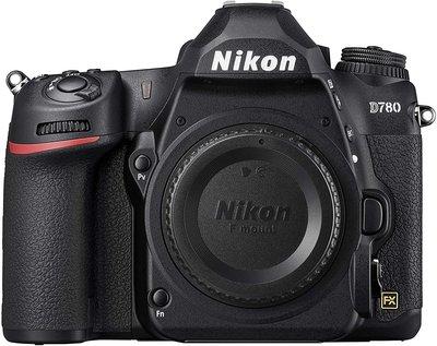 【高雄四海】Nikon D780 Body 單機身.全新平輸一年保固.4K錄影 觸控式螢幕.眼部對焦 D780