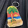 (I LOVE樂多)椰子樹造型 壓克力鑰匙圈 Cali...