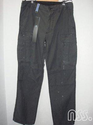 特價【NSS】uniform experiment 12 PAINTED CARGO PANT 六口袋 潑漆 褲 L