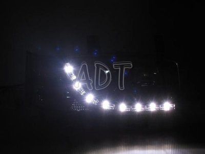 ~~ADT.車材.車材~~福斯VW T4 GP VR6 90~97  仿R8燈眉魚眼大燈一組