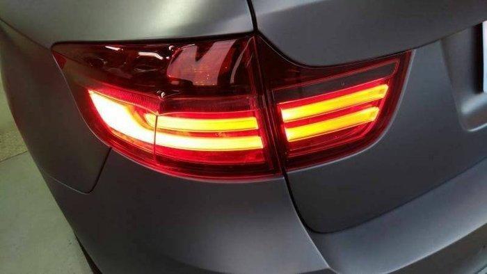 BMW LED後燈 BMW X6 E71 LED後燈 BMW Black Line BMW 正廠零件