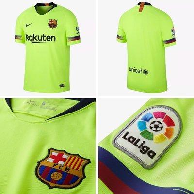 日本代購 2018/19 FC Barcelona Stadium Away 918990-703 男款(Mona)