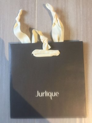 【Jurlique】 原裝灰黑色紙袋 paper bag 18 x 18 x 8 cm (100%新)