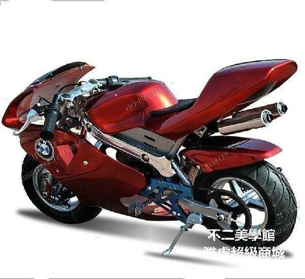 【格倫雅】^49cc迷妳小跑車公路賽車迷妳摩托車小型街跑車易拉雙排44141[g-l-y14