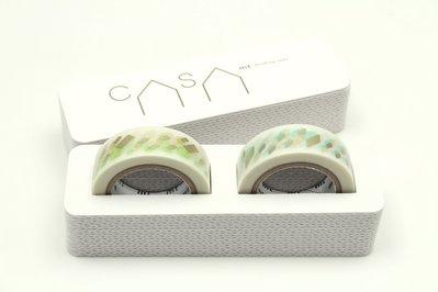 【莫莫日貨】mt online shop 限定款 CASA pattern Bset (兩卷套組) MT02K004