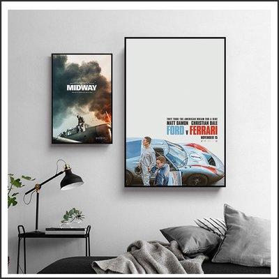 決戰中途島.賽道狂人.噩夢輓歌.迷上癮.男人的一半還是男人 海報 電影海報 掛畫 嵌框畫 @Movie PoP 多款~