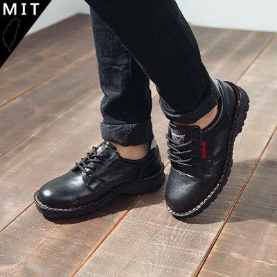男女款 牛頭牌 NewBuffalo 法國高級黑鋼頭三層式縫鞋底線真皮 安全鞋 工作鞋 Ovan