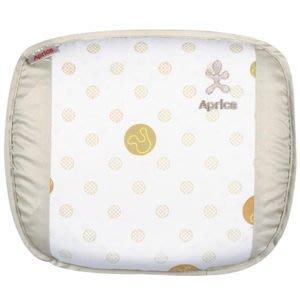 ~~sasa~shop~~ Aprica 透氣舒壓嬰兒用乳膠護頭枕  優雅米     凹枕